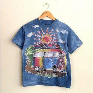 Vintage The Mountain Mens Deadhead Tie Dye T-Shirt